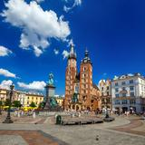 Image: St. Mary's Basilica ( Mariacki Church) in Kraków